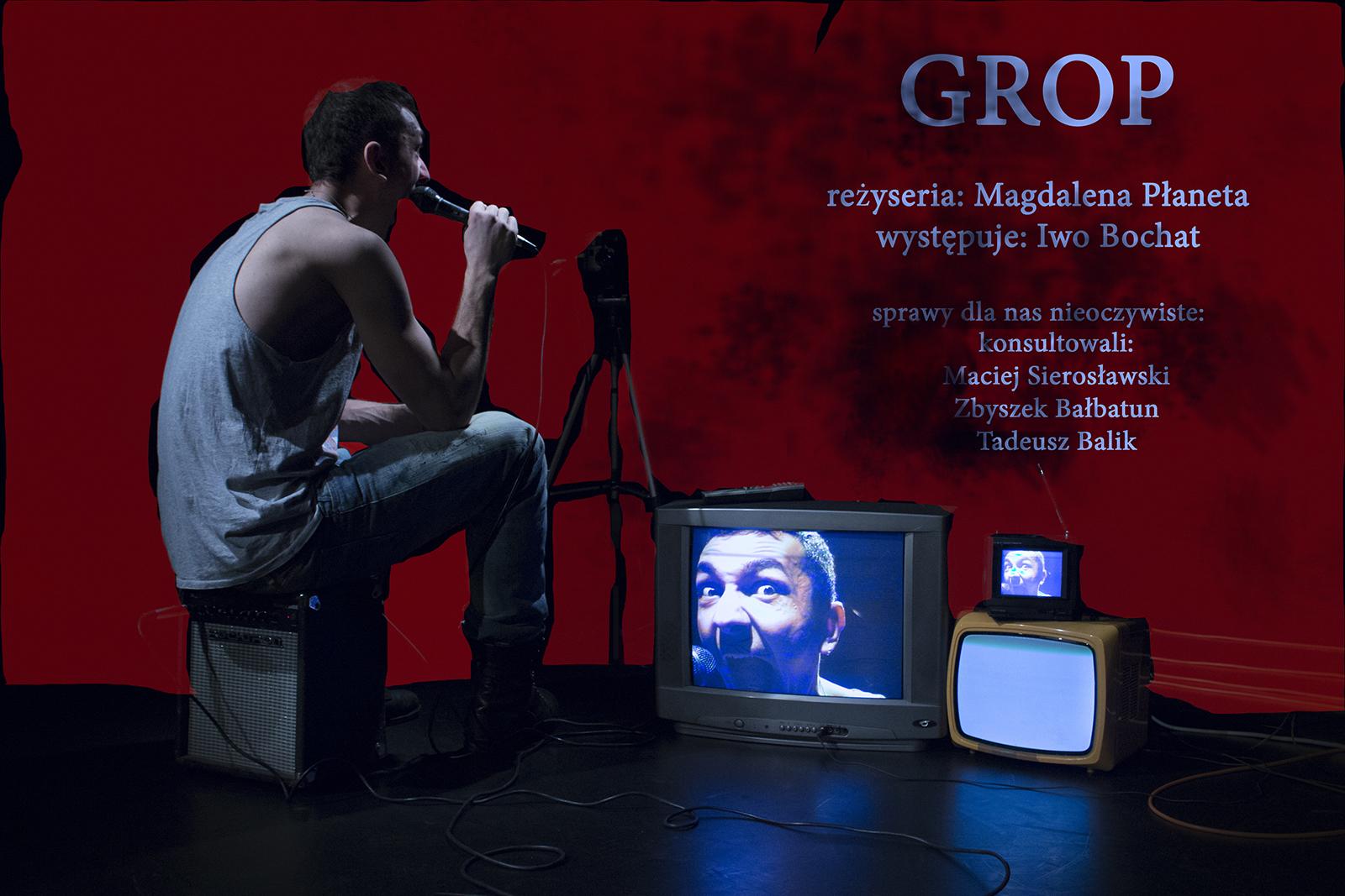 Plakat Grop (bez paska) - mały romiar